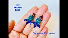 Beaded Bell Earrings ~ Seed Bead Tutorials