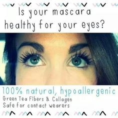 This pic explains it all! Concerned about what you put on your skin/face? Know that this 3D fiber lash mascara is safe!!! Www.so-younique.co.uk