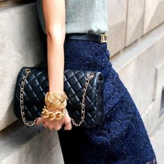 Chanel Lace.