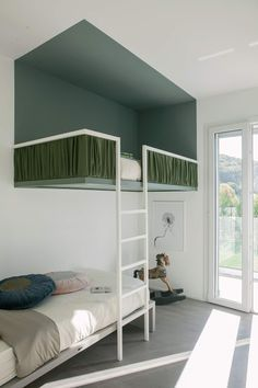 40 Fascinating Kids Bedroom Design Ideas For Your Kids - Your kid is a special human being to you and therefore you should ensure that your kids bedroom designs are also that much special. We all adore our k. Style At Home, Style Blog, Kids Bedroom, Bedroom Decor, Playroom Decor, Bedroom Ideas, Master Bedroom, Casa Kids, Home Furniture