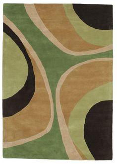 Covor Minar Handtufted - Verde 160x230