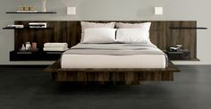 Wood Headboard for Sleep Number Bed  Wall by EndureOfficeFurnitre