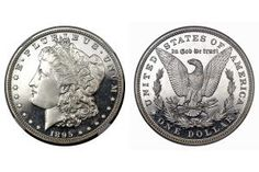 1895 Morgan Silver Dollar - Image Courtesy of: Heritage Auction Galleries, www.ha.com