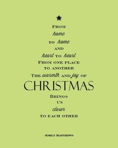 celery background with emily matthews christmas poem