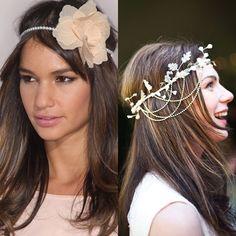 penteado com headband