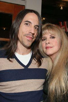 Stevie with Anthony Kiedis, 2006