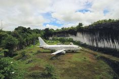 In southern Bali sits an abandoned Boeing 737. It's not at an airport or an airplane boneyard. Instead, it sits in a field near some kind of limestone quarry, and no one quite knows how it got there. The plane has now become a tourist attraction in its own right.