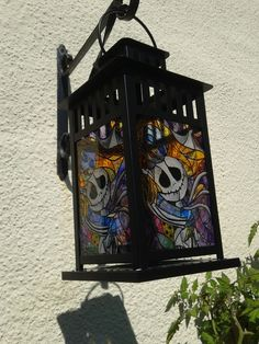 Nightmare Before Christmas, Jack and Sally Lantern