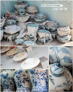 VIETNAM - Take the No.41 bus from Long Bien bus station near Hanoi old town to the end of the line Bat Trang. This village has been home to ceramic makers for centuries. Try your hand at the potters wheel or just ... potter around.