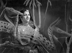 Still from the movie 'Dahej', 1950.