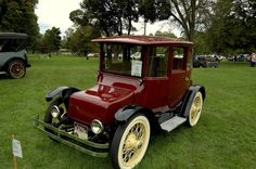 1916 Detroit Electric (The Future is Electric!)