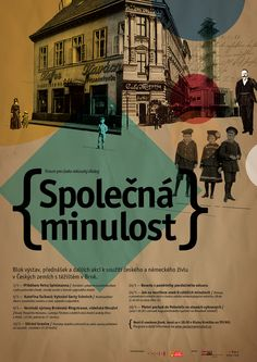 Spolecna minulost / Corporate Identity by Stanislav Bilek, via Behance
