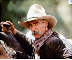 Sam Elliott...I love ALL his movies. This guy could read the phone book and I would be mesmerized! That voice!