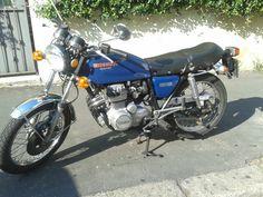 #Honda #super #sport Bull on the Mike likes bikes :)
