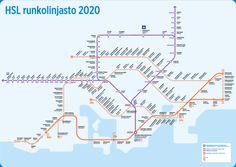 Transports urbains HELSINKI.