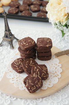 「ショコラアーモンド」nyonta | お菓子・パンのレシピや作り方【corecle*コレクル】