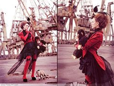 Steampunk Carousel. Viona has FANTASTICALLY put-together outfits