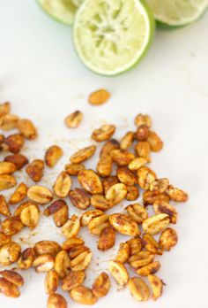 roasted chili lime peanuts - simple, clean, and just 5 ingredients!