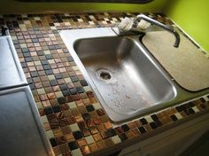 Rv Countertop Options : 1000+ images about RV ideas on Pinterest Rv garage, Campers and ...
