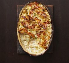 Best-ever macaroni cheese with crunch crumb | BBC Good Food