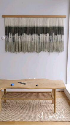 Boho Tapestry, Wall Tapestry, Modern Tapestries, Flower Room, Diy Garland, Modern Wall Decor, Macrame Patterns, Minimalist Bedroom, String Art