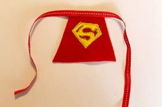 Superhero Glass Capes - DIY Craft Project Instructions