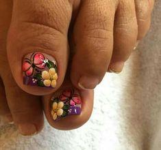 Pedicure Nail Art, Toe Nail Art, Toe Nails, Manicure, Spring Nails, Nail Art Designs, Irene, Nail Arts, Work Nails