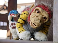 """Mind-Bogglingly Amazing Amigurumi – Japanese """"Nue"""" Crocheted by Lumièna"""