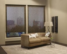 Alustra - screen shades - material chic  Find more purchasing options at Creative Windows of Ann Arbor MI www.creativewindows.com