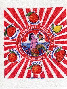 Sirena Palagonia Vintage Packaging, Vintage Labels, Vintage Ads, Vintage Type, Graphic Prints, Graphic Art, Indian Folk Art, Vintage Mermaid, Vintage Graphic Design