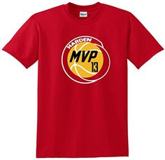 James Harden Houston Rockets MVP NBA TShirt ADULT XL ** Be sure to check out this awesome product.Note:It is affiliate link to Amazon.