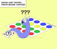 Dratini used Twister by GhostLiger