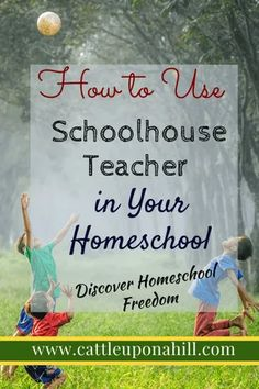 How to Use Schoolhouse Teacher in your Homeschool - Cattle Upon a Hill Homeschool Curriculum, Online Homeschooling, Word Building, Course Offering, Choose Wisely, Daily Devotional, First Step, Preschool Activities, Cattle