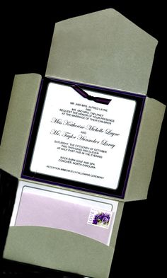 I like the setup of this invitation but with different colors