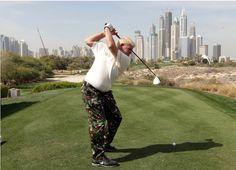 John Daly in Dubai