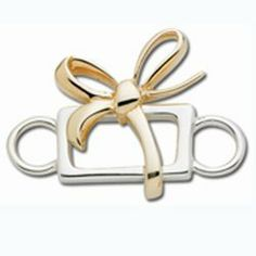 Currents Gifts and Jewelry - Convertible Sterling Silver and 14K Gold Present Clasp  , $219.00 (http://www.currentsgifts.com/convertible-sterling-silver-and-14k-gold-present-clasp/)