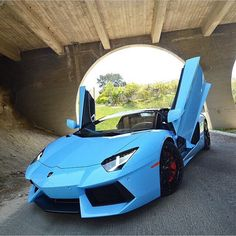 Lamborghini Aventador Roadster painted in Blu Cepheus   Photo taken by: @thatphotographer on Instagram