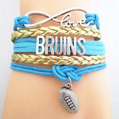 Infinity Love UCLA Bruins Football BOGO