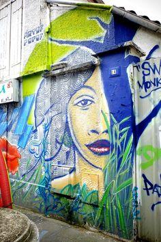 Artof popof - Street art - Montreuil, rue edouard vaillant (jun 2013)