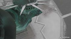 It's a Statue of Liberty selfie! Visit her with our webcam http://www.earthcam.com/statueofliberty/