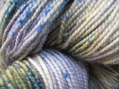 Sock Yarn  Superwash BFL and Nylon  Salt Creek by GraceandFiber, $19.75