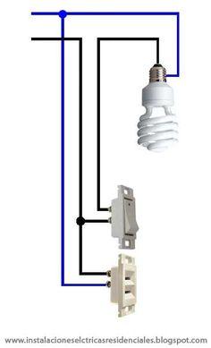 Instalaciones eléctricas residenciales - apagador y contacto en la misma caja