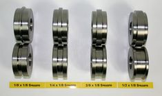 JD Squared Roll Sets Pictures show complete ranges. All roll sets are sold as pairs. Sheet Metal Shop, Sheet Metal Tools, Sheet Metal Work, Metal Working Tools, Work Tools, Sheet Metal Bender, Metal Fabrication Tools, English Wheel, Metal Shaping