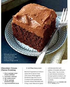 Cream Cheese Chocolate Frosting