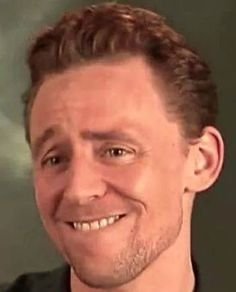 Tom perfectly shows the face I often have when I see pictures of him.