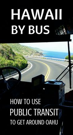 Things you must know about taking the bus on Oahu Hawaii! Public transportation is easy with the Oahu bus! Things to do in Oahu by bus from Waikiki and Honolulu. Save money on Hawaii vacation, take bus to popular hikes, beaches, snorkeling spots can help. You can go around Oahu including North Shore, Kailua, Lanikai, Pearl Harbor by bus from Waikiki, but it's a full-day itinerary! Travel tips for Hawaii on a budget for some budget-friendly adventures... #hawaii #oahu #waikiki