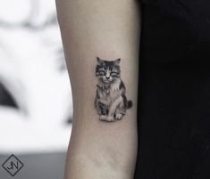40+ Simple Cat Tattoos Designs For Cat Lovers #tattoos #cattattoos - Lovely Animals World
