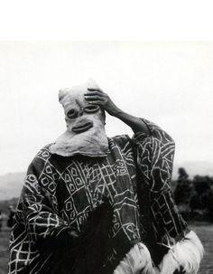 Africa | Bamileke masquerader. Cameroon || Photographer unknown