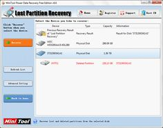 How to recover data from lost partition with MiniTool Power Data Recovery.