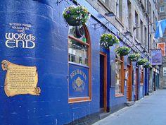 The Worlds End. Belhaven Brewery Edinburgh
